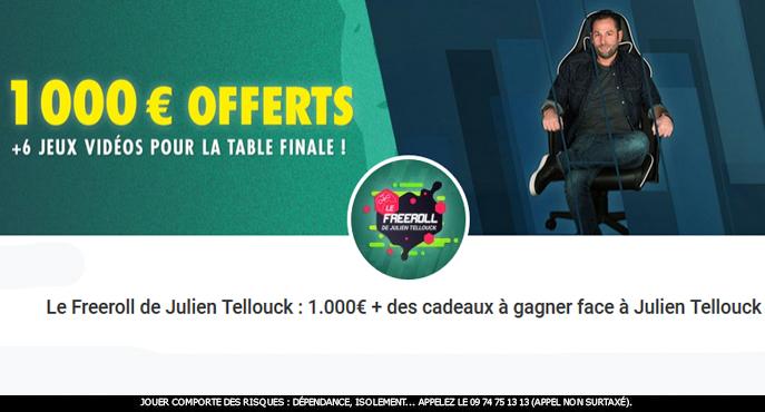 freeroll julien tellouck unibet poker