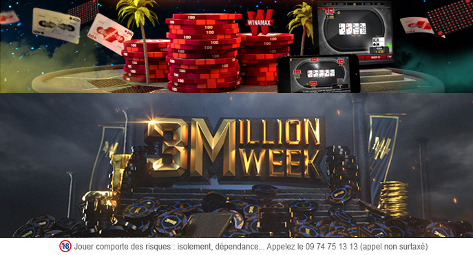 winamax 3 million week