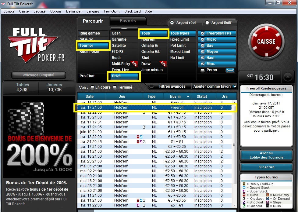 Full tilt poker jobs dublin