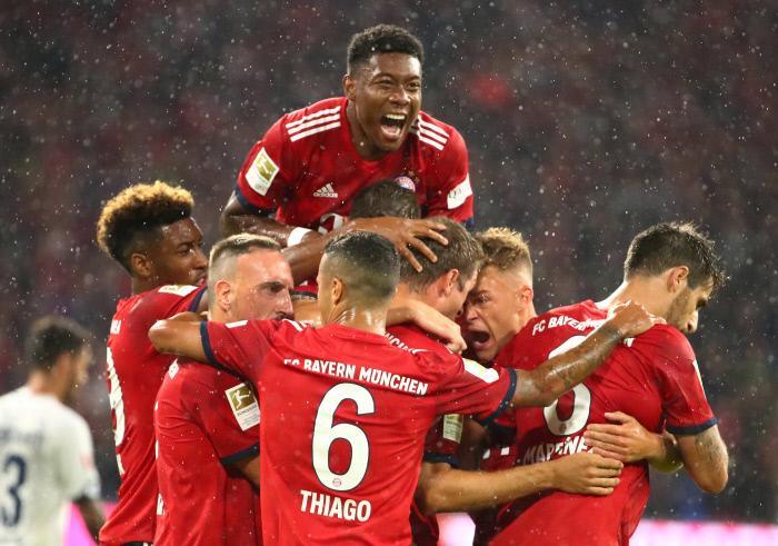 Bayern Munich - Eintracht Francfort