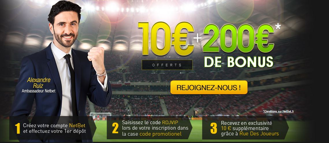 netbet-bonus-200-euros-exclu-rdj-club-vip-10-euros-offerts