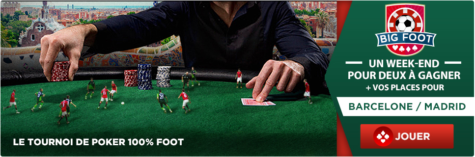 everest poker big foot barcelone atletico madrid