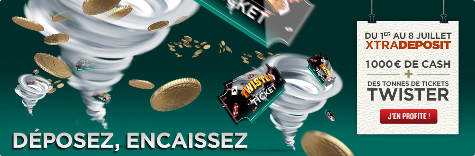 everest poker deposez encaissez xtradeposit 1000 euros cash