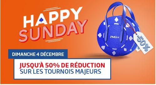 pmu-poker-happy-sunday-dimanche-4-decembre-tournois-soldes-50-pour-cent
