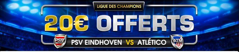 netbet-cashback-ligue-des-champions-psv-eindhoven-atletico-madrid-mercredi-24-fevrier