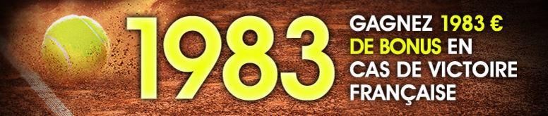 netbet-tennis-roland-garros-1983-victoire-francais
