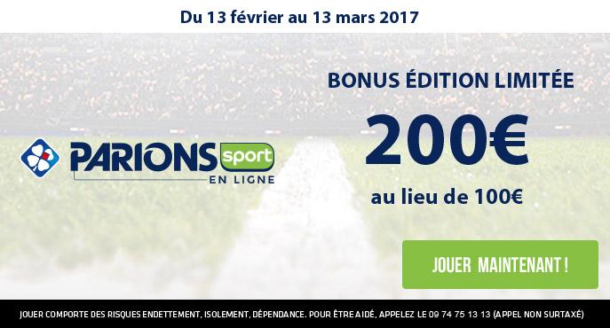 parionssport en ligne 200 euros offerts