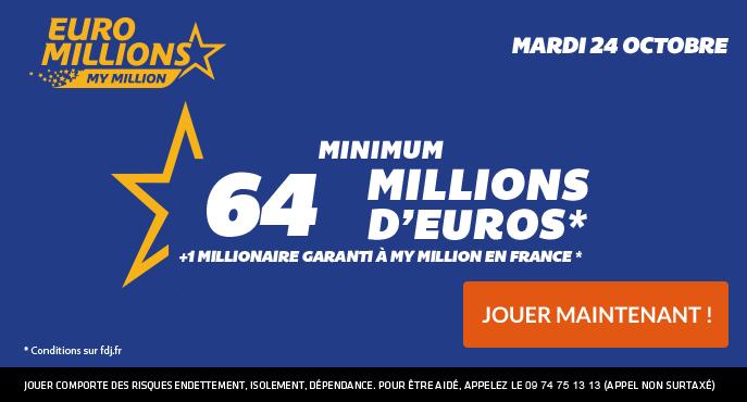 64 M D A Gagner A L Euro Millions Ce Mardi 24 Octobre Imaginez