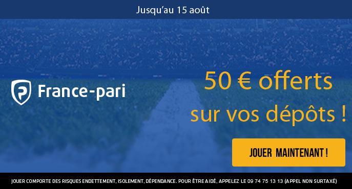 france-pari-15-aout-50-euros-offerts-depots