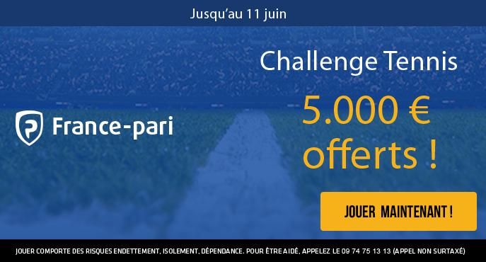 france-pari-challenge-tennis-roland-garros-5000-euros-offerts