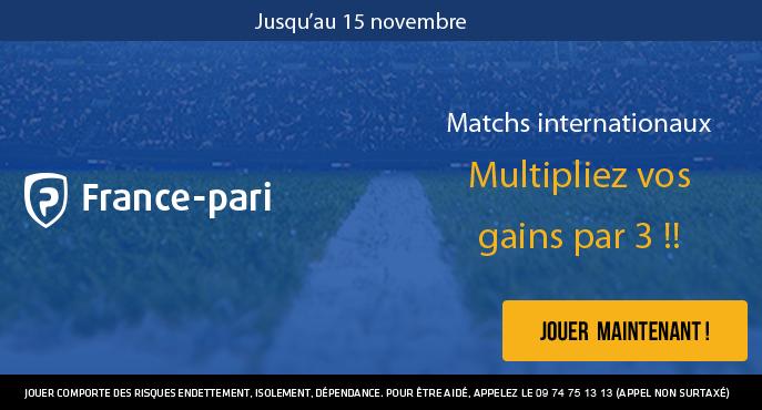 france-pari-football-matchs-internationaux-amicaux-gains-multiplies-par-3-buteurs