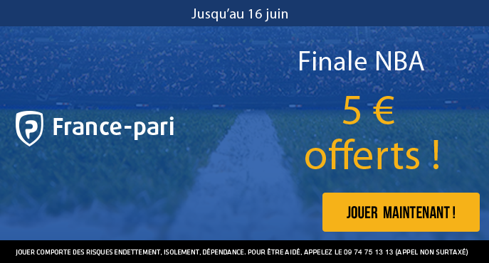 france-pari-nba-finale-5-euros-offerts-golden-state-cavaliers-cleveland