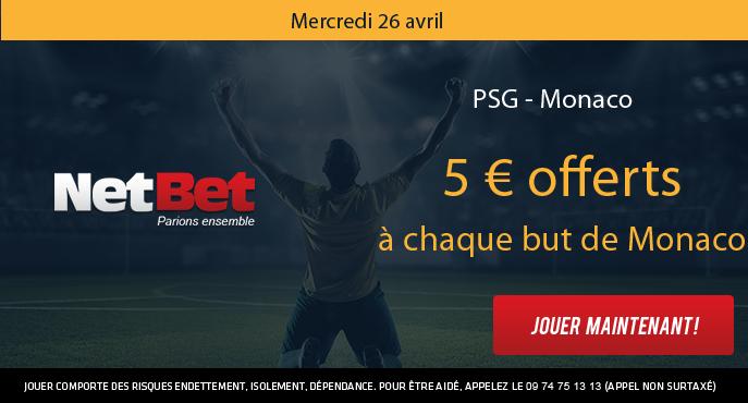 netbet-football-demi-finale-coupe-de-france-psg-monaco-5-euros-offerts-but-monaco