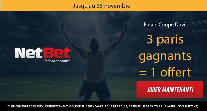 netbet-france-belgique-finale-coupe-davis-3-paris-achetes-1-pari-offert