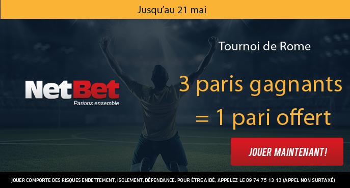 netbet-sport-tennis-atp-rome-3-paris-gagnants-1-pari-offert