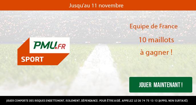 pmu-sport-equipe-de-france-matchs-amicaux-internationaux-10-maillots