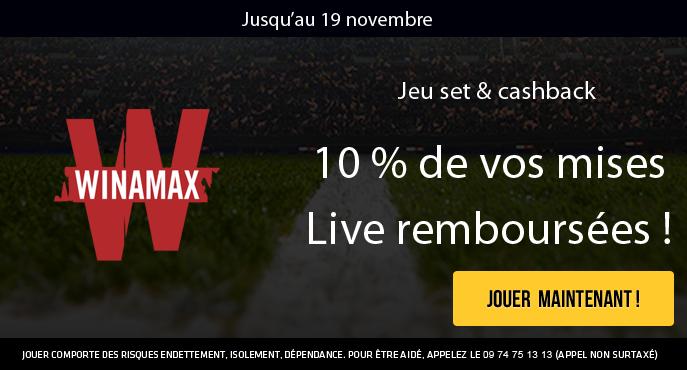 winamax-tennis-masters-londres-cashback-10-pour-cent-mises-remboursees