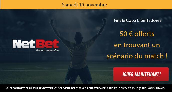 netbet-finale-copa-libertadores-boca-juniors-river-plate-50-euros-scenario