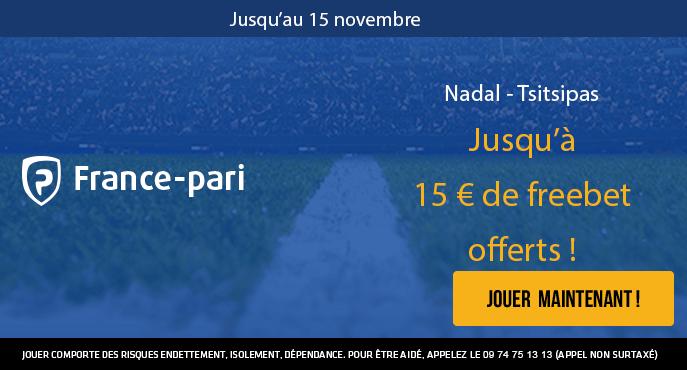 france-pari-nadal-tsitsipas-tennis-masters-londes-15-euros-freebet-offertsdavie-5-euros-freebet