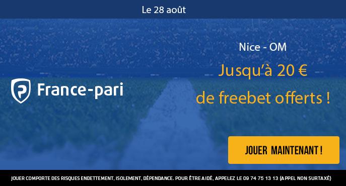 france-pari-nice-om-ligue-1-20-euros-freebet