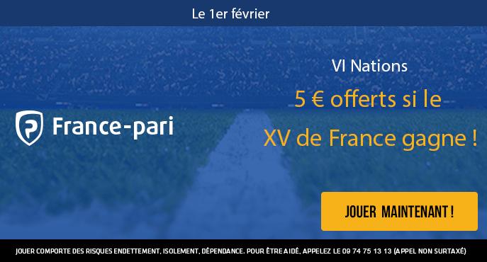 france-pari-vi-nations-rugby-france-5-euros-offerts
