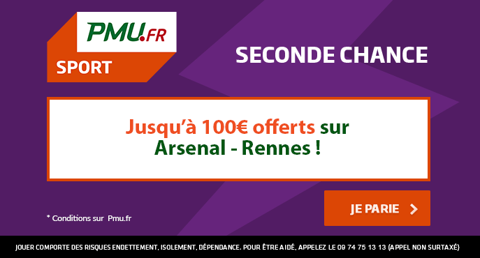 pmu-sport-seconde-chance-arsenal-rennes-ligue-europa