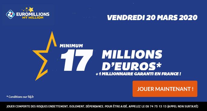 euromillions 20 mars 2020