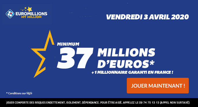 euromillions 3 avril 2020
