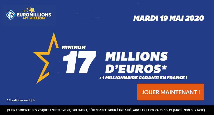 euromillions mardi 19 mai 2020