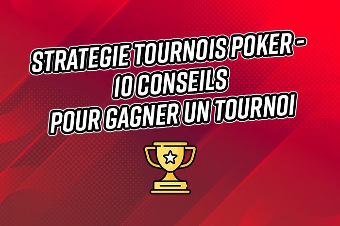 strategie tournoi