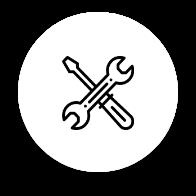 Logiciels, sites et outils icone