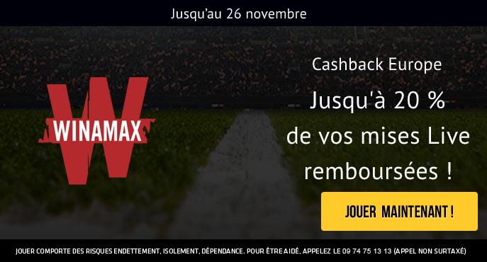 winamax-sport-ligue-des-champions-ligue-europa-cashback-20-pour-cent-mises-live-4e-journee