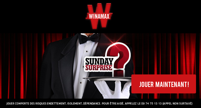 winamax-poker-sunday-surprise-tournoi-touche-pas-a-mon-poste-100000-euros-dimanche-7-mars