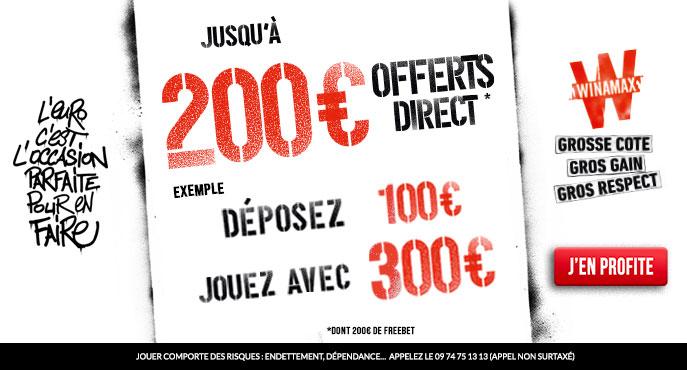 bonus winamax 200