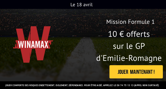 winamax-sport-mission-formule-1-emilie-romagne-2021-10-euros-offerts