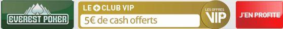 everest poker ruedesjoueurs club vip 5 euros offerts