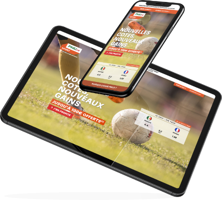 pari sportif en ligne smartphone tablette