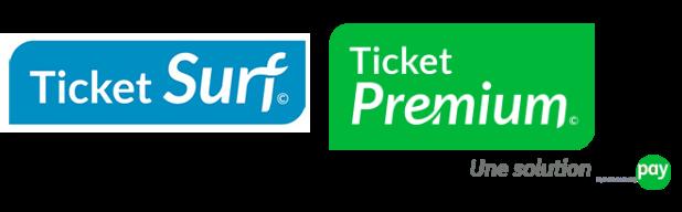 Ticket Surf - Ticket Prémium