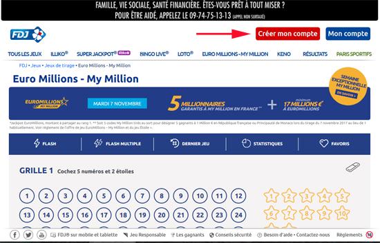 comment jouer euromillions mymillion
