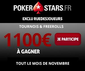 pokerstars tournois nov16