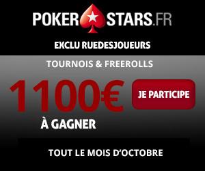 pokerstars Octobre