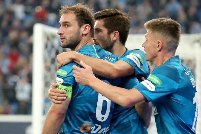 Pronostic Zenit St. Petersburg Club Bruges