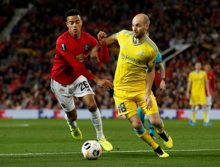 Pronostic FC Astana Manchester United