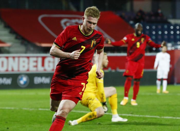 De Bruyne ne s'est toujours pas entraîné avec la Belgique !